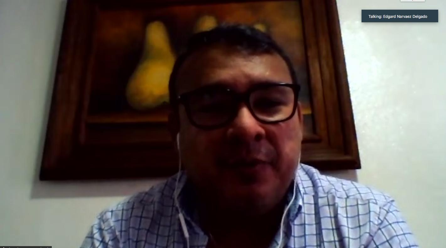 Edgard Narváez, Especialista de Salud Sexual y Reproductiva de UNFPA Nicaragua