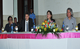 De izquierda a derecha: Dra. Yadira Centeno Magistrada de la CSJ, Dr. Markus Behrend, Representante de UNFPA, Dra. Alba Luz Ramos,Presidenta de la CSJ y el Dr. Fernado Huertas , Docente del Magister.