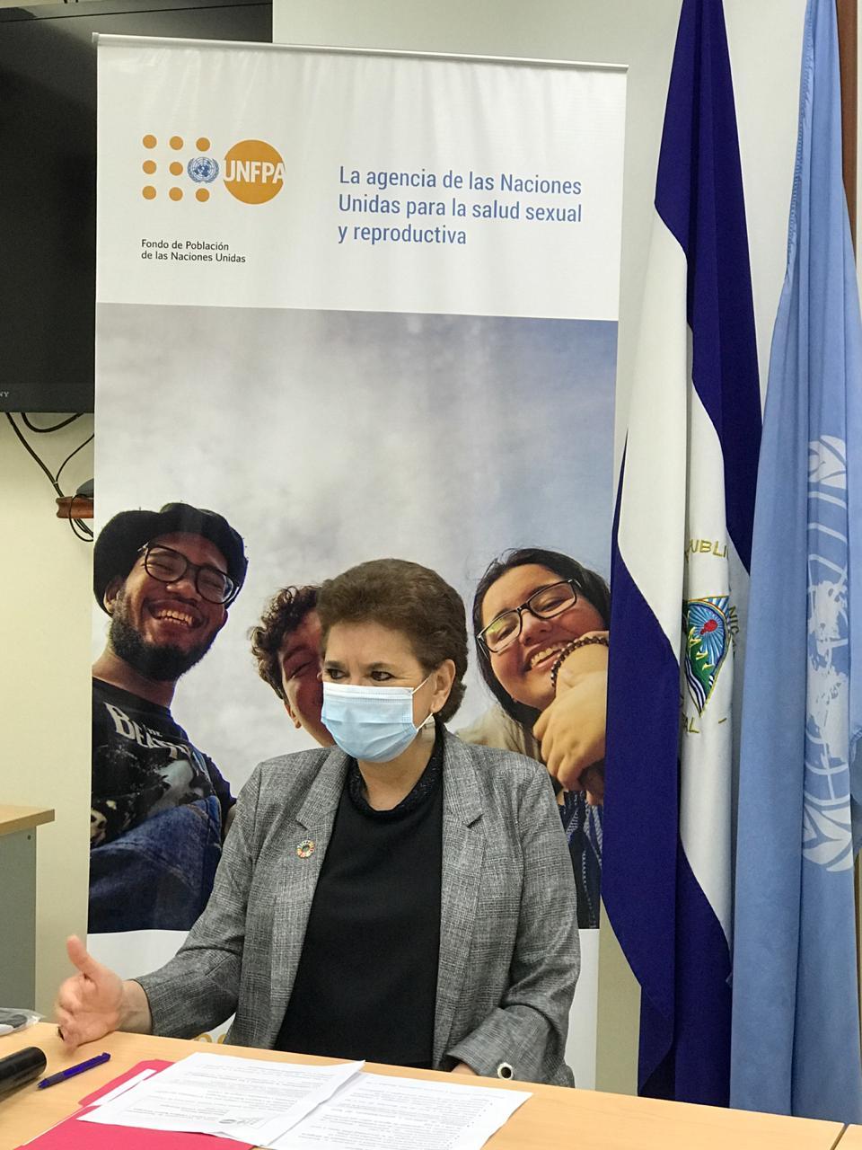 Elena Zúñiga, Representante UNFPA Nicaragua
